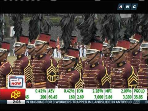 Aquino, Binay attend PNPA graduation rites