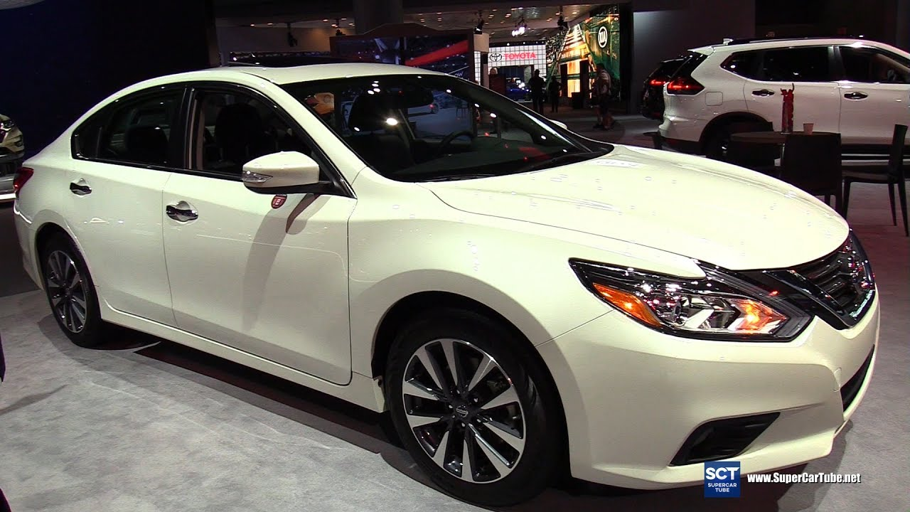 2017 Nissan Altima Sv Exterior And Interior Walkaround New York Auto Show