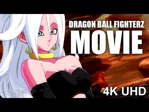 DRAGON BALL FighterZ | THE MOVIE! (All Main DBFZ Story CUTSCENES)【4K UHD】(Dragon Ball 2018 Game)