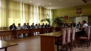 LII sesja Rady Powiatu Łaskiego