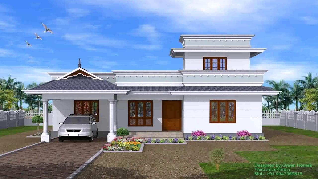4 Bedroom Single Storey House Plans Kerala