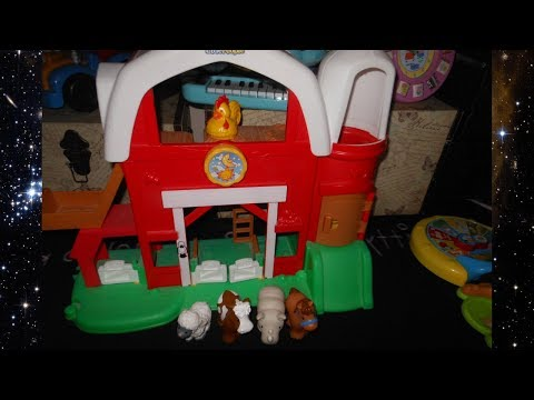 Fisher-Price Little People Animal Sounds Farm B8343 ...