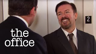 Michael Scott Meets David Brent - The Office US