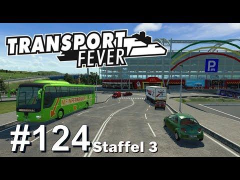 Transport Fever S3/#124: Autobahn-Buslinie Stadion München [Let's Play][Gameplay][German][Deutsch]