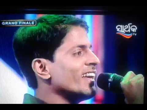 Amaresh Mishra Grand finale performance of Swara odisha season 2( bhaktira swara) Sarthak tv