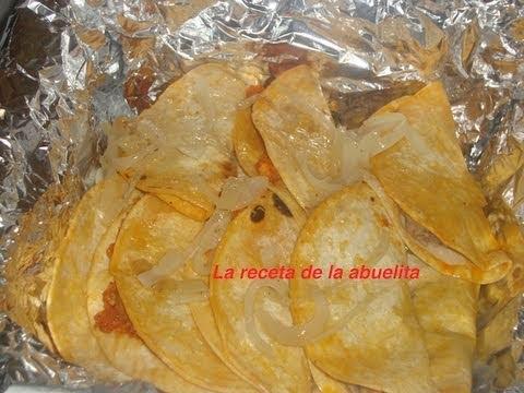 Receta de tacos de canasta preparacion de los tacos parte 2 de 2-La receta de la abuelita