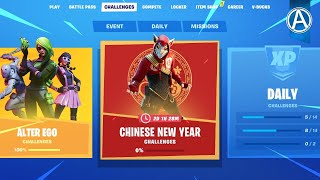 NEW Chinese New Year Event - NEW Free Rewards! (Fortnite Battle Royale LIVE)