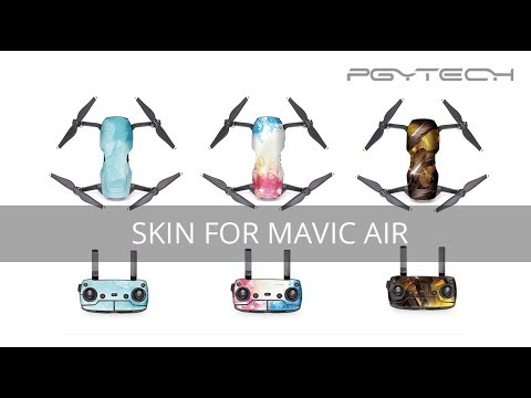 Pgytech Mavic Air Skin Wrap Sticker Tutorial
