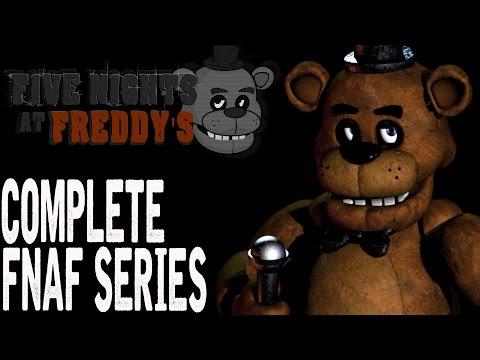 Five Nights at Freddy's FULL SERIES Walkthrough (FNAF 1-4 & FNAF World)
