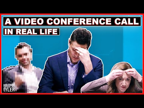 A Video Conference Call in Real Life