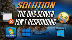 Fix DNS Server Not Responding in Windows 10/8/7- [2020]