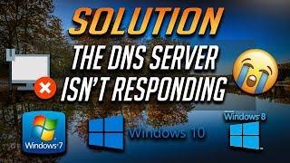 Fix DNS Server Not Responding in Windows 10/8/7- [2021]