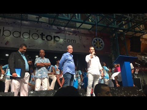 Anúncio do samba campeão na Vila Isabel - Carnaval 2018
