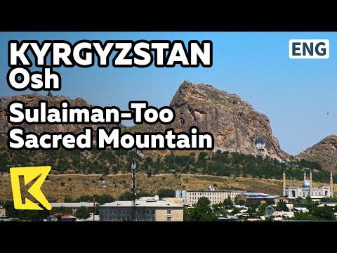 【K】Kyrgyzstan Travel-Osh[키르기스스탄 여행-오시]술라이만투 성산/Solomon/Mountain/Pamir plateau/Sulaiman-Too/Unesco