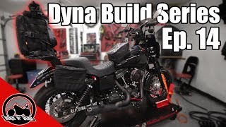 Harley Dyna Build Series Ep. 14 - Quick Detach Sissy Bar & Cycle Visions Curved Plate Mount