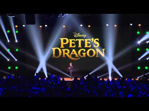Disney's Pete's Dragon: Bryce Dallas Howard on Stage at D23 Expo 2015 Announcement