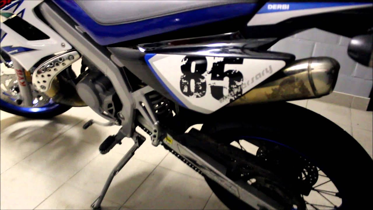 my derbi drd racing special edition anniversary 85 youtube. Black Bedroom Furniture Sets. Home Design Ideas