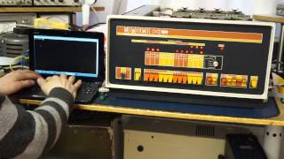 Dec PDP8e serial loopback @ 300 baud