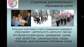 Презентация о школе 2011