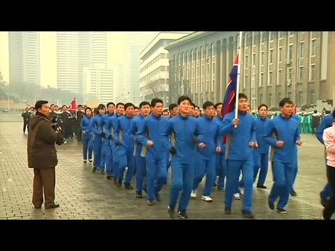 North Korea holds first national sports day of 2017 –video