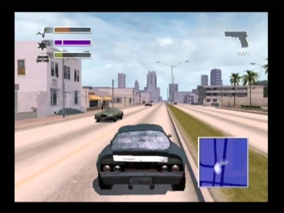 Driver 3 Take A Ride Miami Day Gameplay PS2