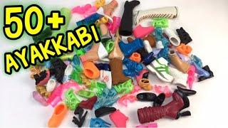 Barbieler İçin Aldığımız Yeni Ayakkabıların Açılımı + Evdeki Barbie Ayakkabılarımızın Tanıtımı