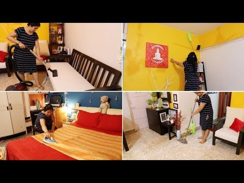Indian Living Room Deep Cleaning Routine | Sofa Deep Cleaning | Maitreyee's Passion