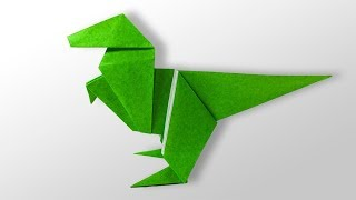 Easy Origami for kids - How to make Origami Dinosaur