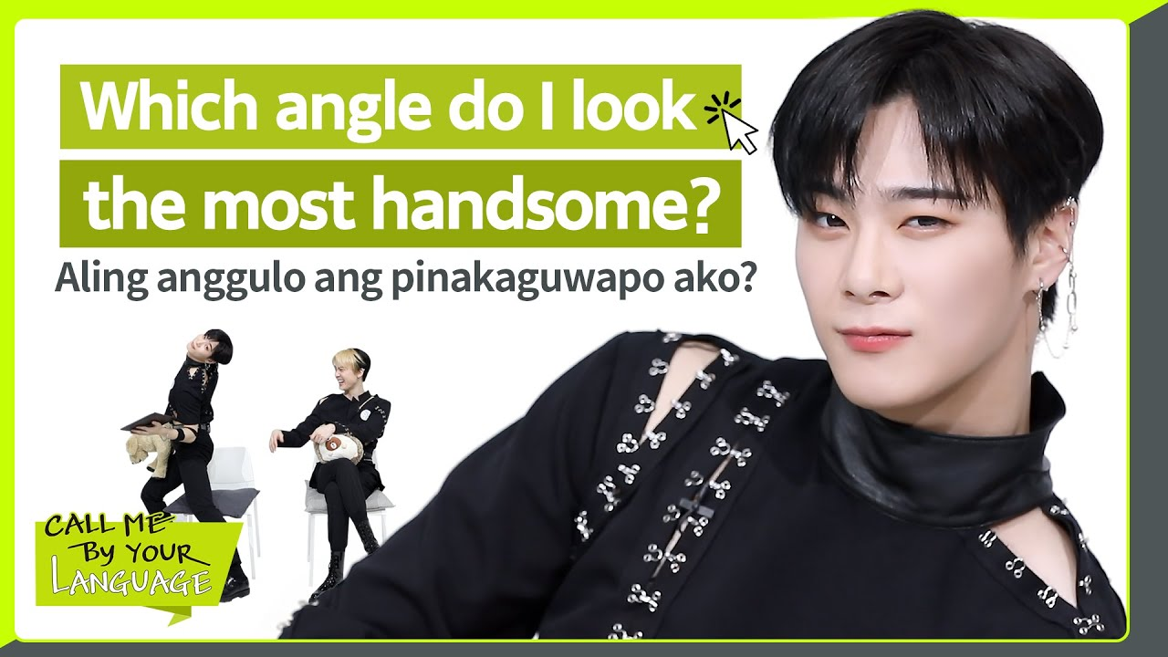 MOONBIN&SANHA (ASTRO) replies to fans in FILIPINO   #CBL (CALL ME BY YOUR LANGUAGE)