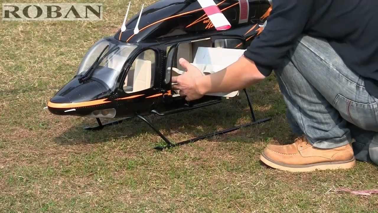 Roban Model - 700 size Bell 429 Scale Heli w Compactor mechanic