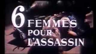 6 femmes pour l'assassin (1964) Bande annonce française