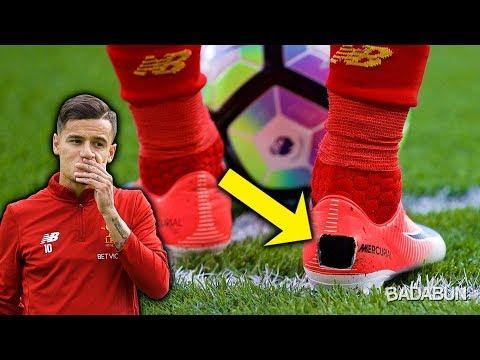 La increble razn por qu Coutinho hace hoyos a sus zapatos
