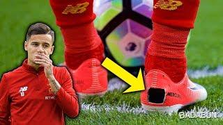 La increíble razón por qué Coutinho hace hoyos a sus zapatos