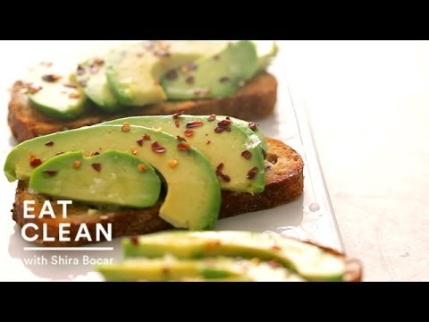 Avocado and Coconut Oil Toast - Eat Clean with Shira Bocar