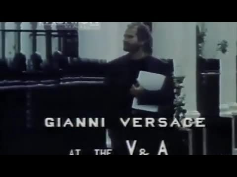 GIANNI VERSACE at the Victoria & Albert Museum - London 1985 - Exclusive by Fashion Channel