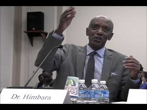US Policy Toward Rwanda - Congressional Hearing held on May 20, 2015