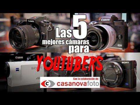 la-5-mejores-cámaras-para-youtubers