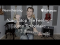 #LearnTheSong - Can't Stop The Feeling! - Justin Timberlake - Cover Band Guitar Lesson