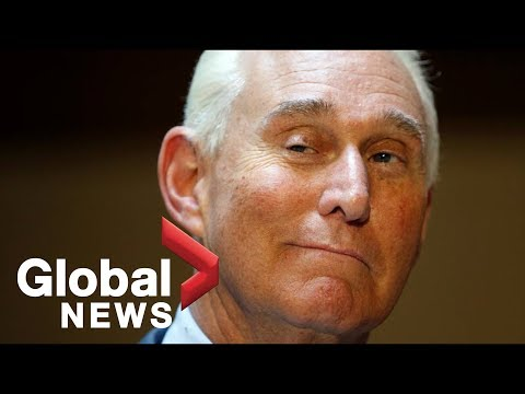 Roger Stone makes court appearance following arrest by FBI