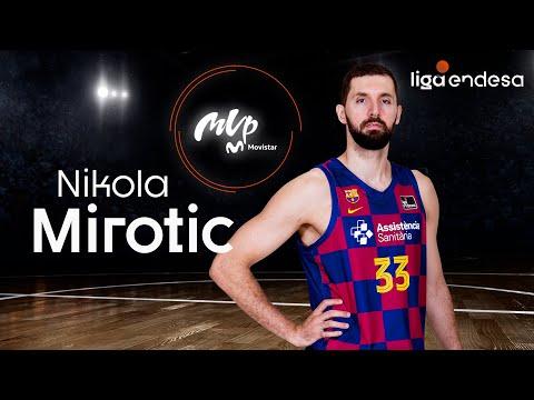 Nikola Mirotic, MVP Movistar de la Liga Endesa 2019-20