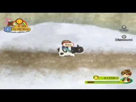 Let's Play Harvest Moon: Animal Parade 84: Winter Kitty