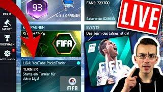 FIFA 18 MOBILE: Live 😱🔥 ICH suche 90+ TEAMS!