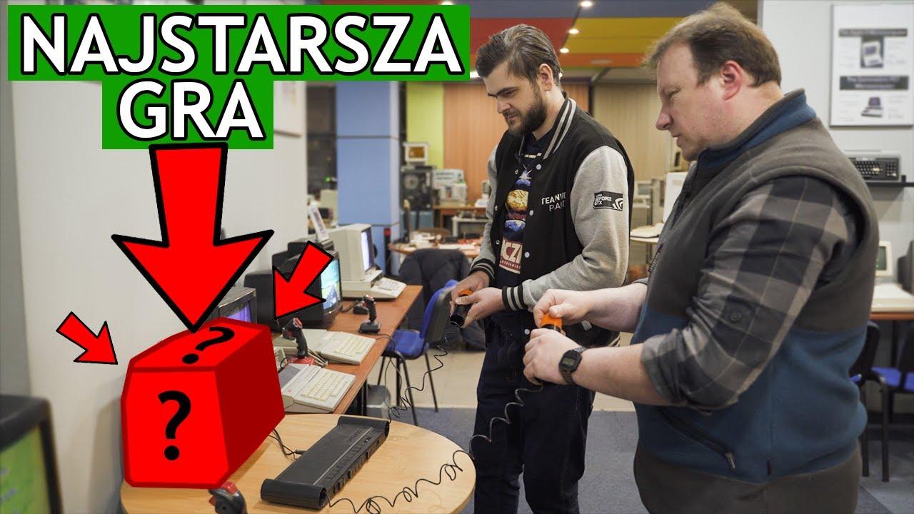 Jak wyglądała NAJSTARSZA gra komputerowa? - Muzeum Historii Komputerów i Informatyki w Katowicach