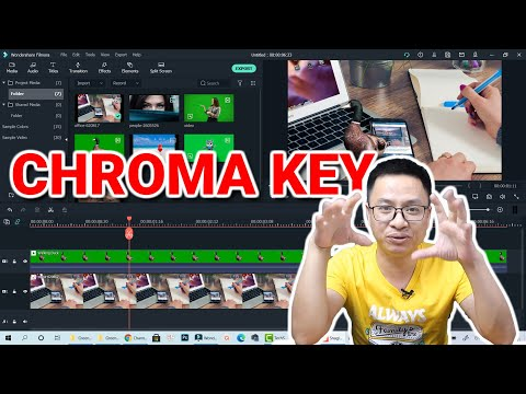 How to use Chroma Key in Filmora X Video Editor