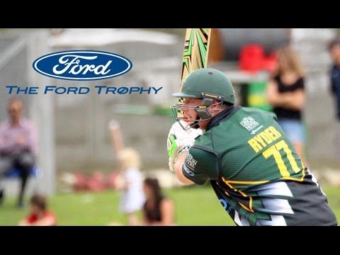 Watch Jesse Ryder's sixes in his best Ford Trophy century