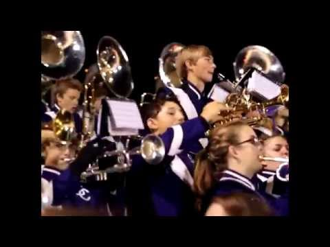 2014 Sevier County High School Marching Band Having Fun