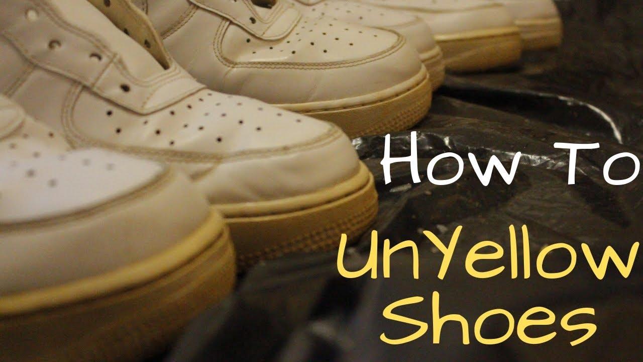 Un-Yellow Shoes