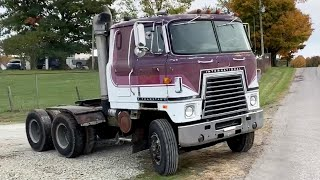 I bought a 1979 CUMMINS Cabover for research purposes