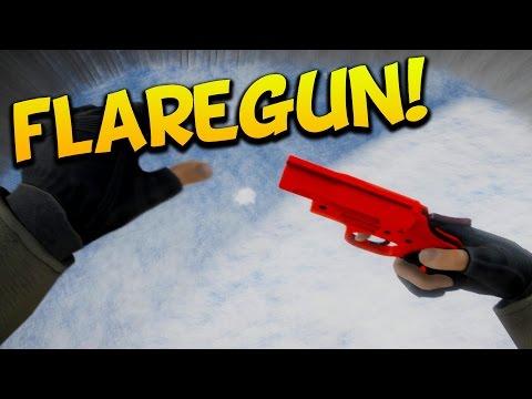 I FOUND THE FLAREGUN! - EPIC FAIL - ICED New Survival Game #2