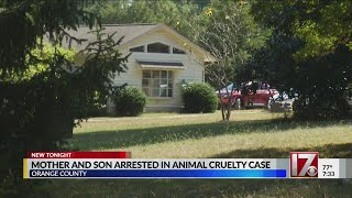 Mom, son charged in animal cruelty case in Orange County